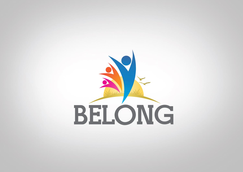 Playful, Modern, Ministry Logo Design for Belong by dm.