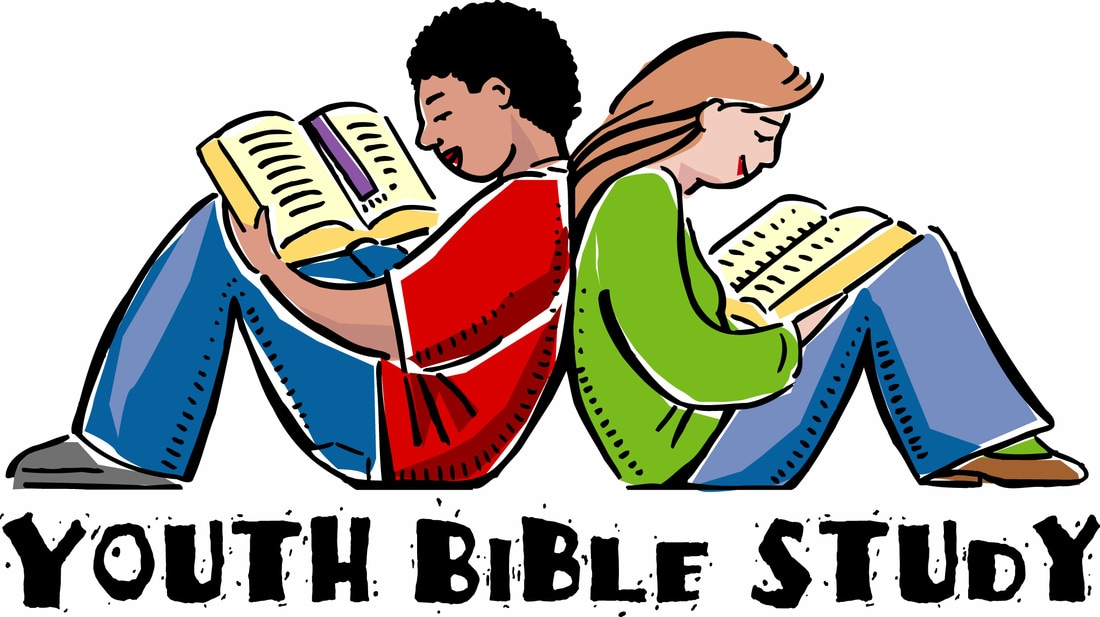 Youth Bible Study Clipart.