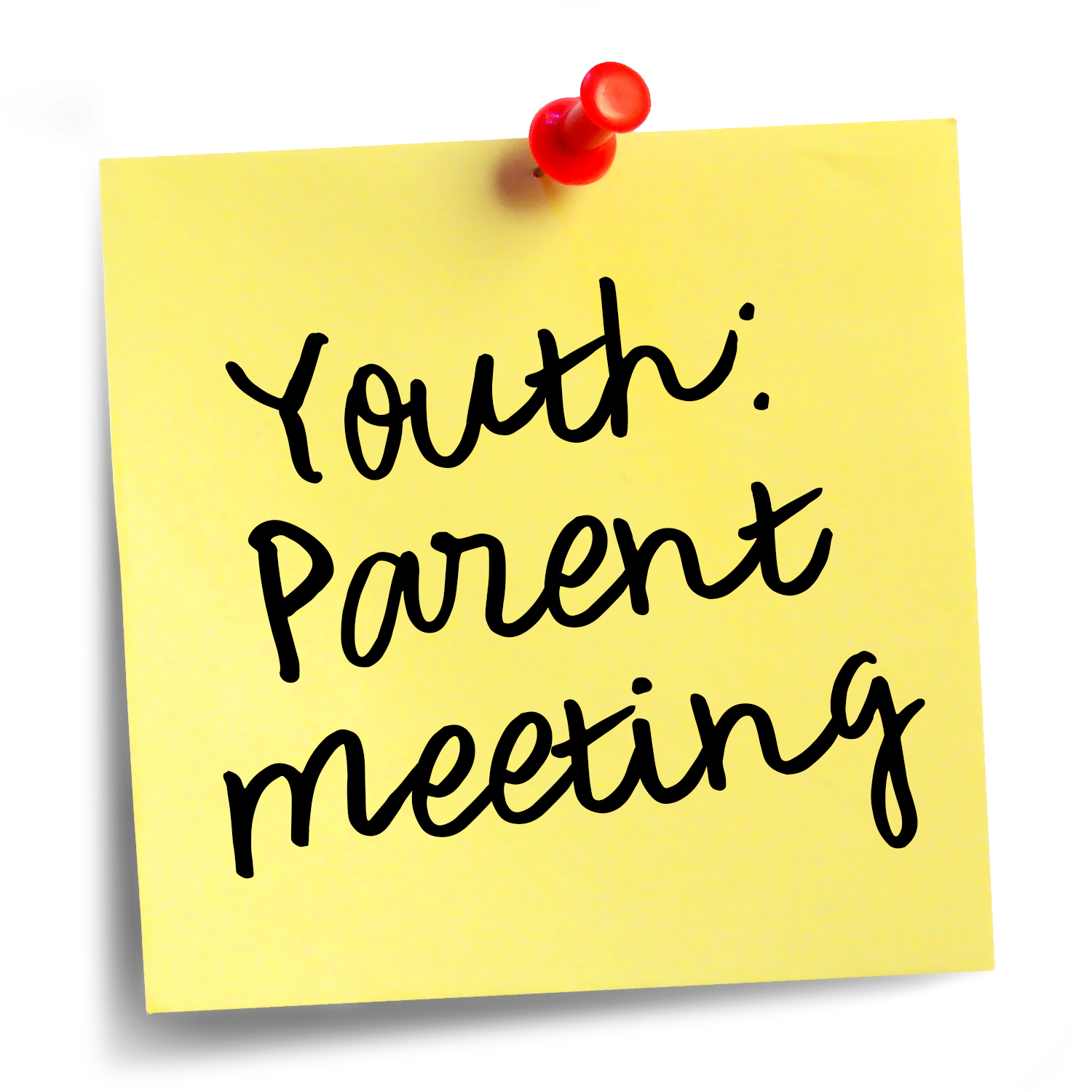 Parent Meeting: Youth Camp — The Church of Joy.