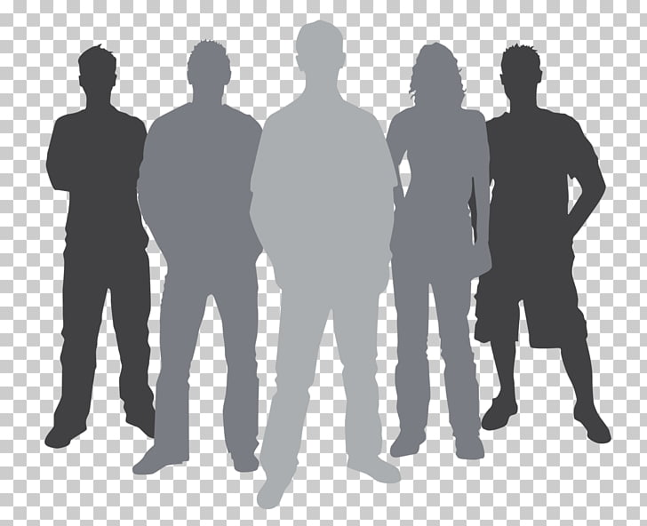 Silhouette , High Resolution Youth , five silhouette of.