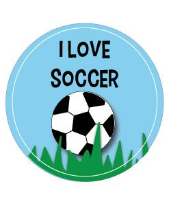 I love soccer.