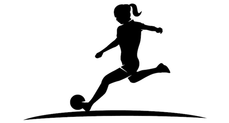 Female Soccer Player Silhouette at GetDrawings.com.