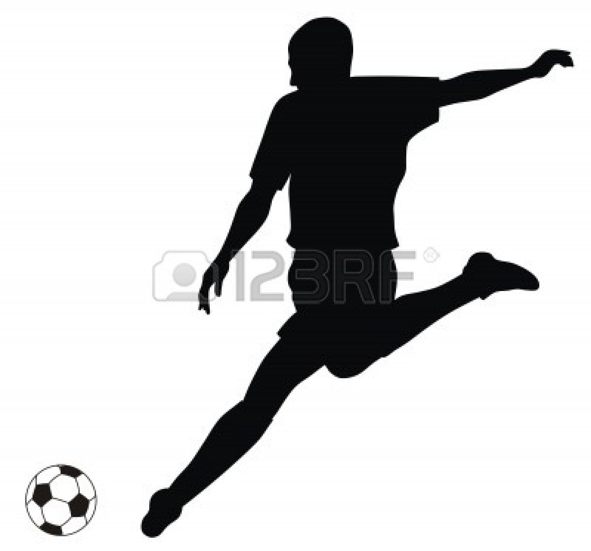 Soccer Player Clipart.