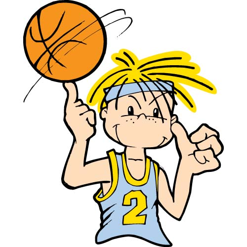 Youth Basketball Clipart.