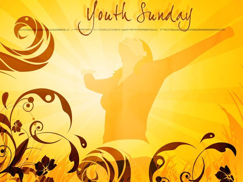 Youth Sunday Clip Art.