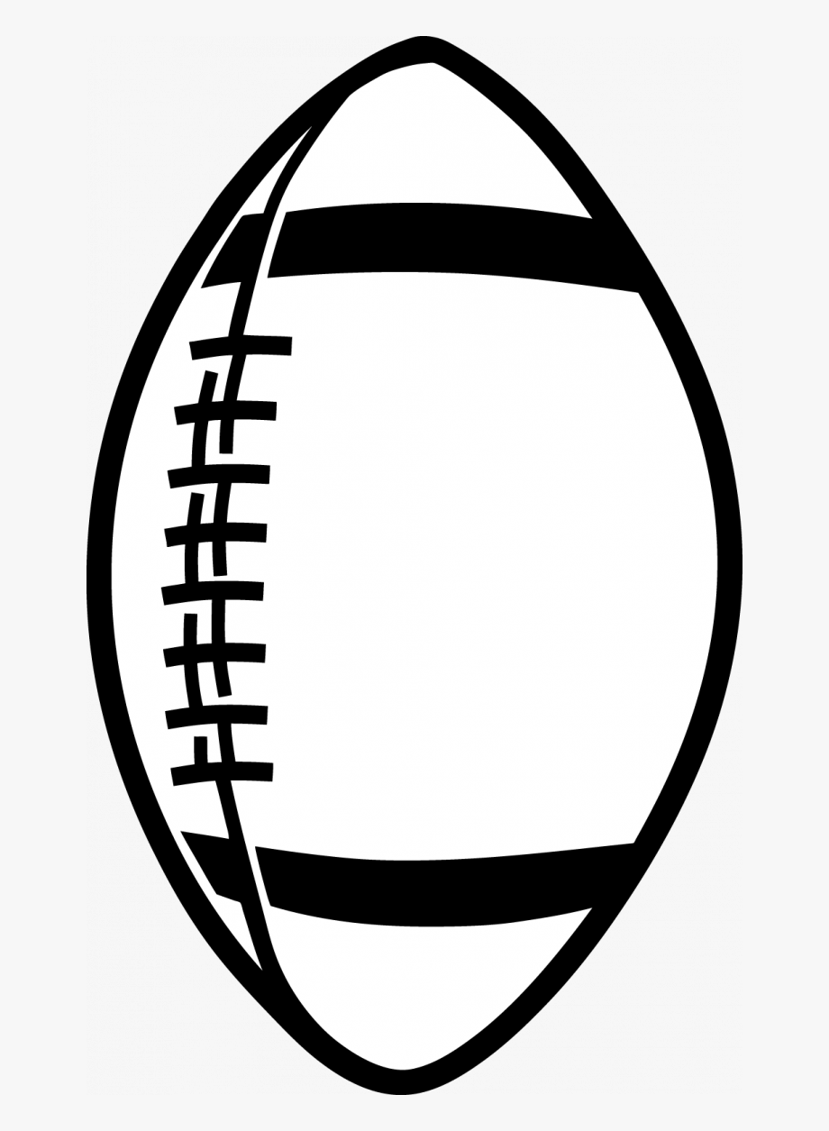 Pics Of A Football Clip Art On Images For Outline Clipart.