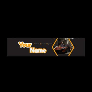 Youtube Banner PNG Images.