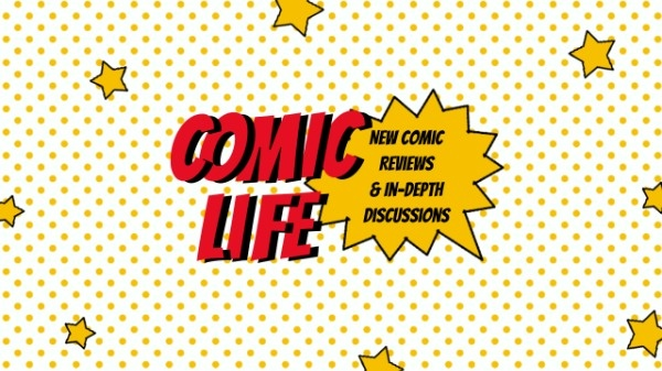 Online Comic Reviews Youtube Channel Art Template.
