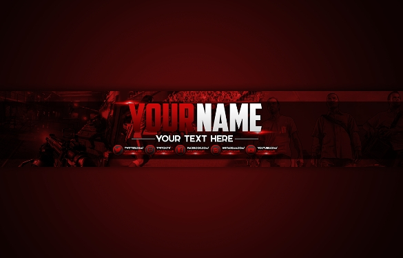 25+ YouTube Channel Art Templates.