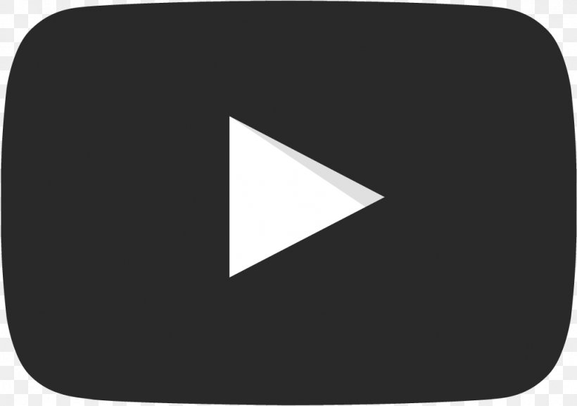 YouTube Black And White Clip Art, PNG, 1024x721px, Youtube.