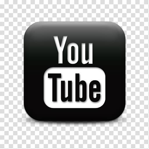 YouTube Icons Promo Pack, black square you tube webtreats.