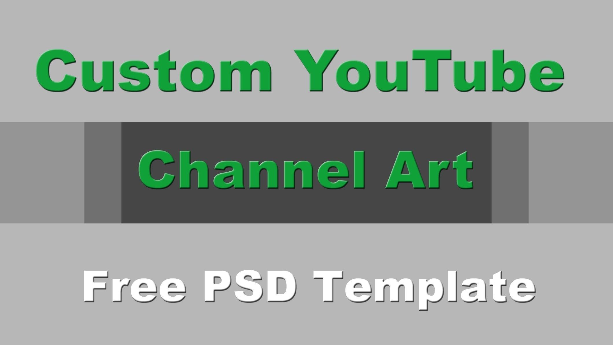 Free Youtube Banner Maker.