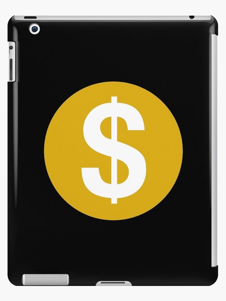 \'Demonetized Logo\' iPad Case/Skin by ImperialDesignz.