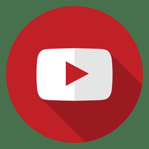 Youtube icon logo.