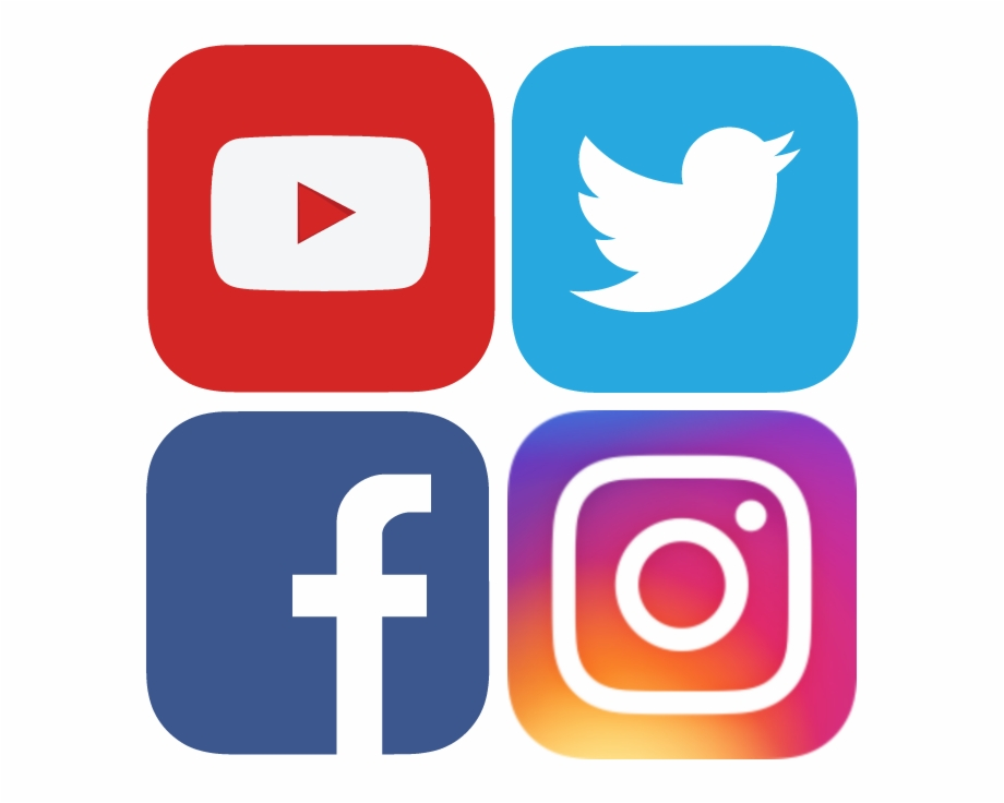 Facebook Twitter Instagram Icons Png.
