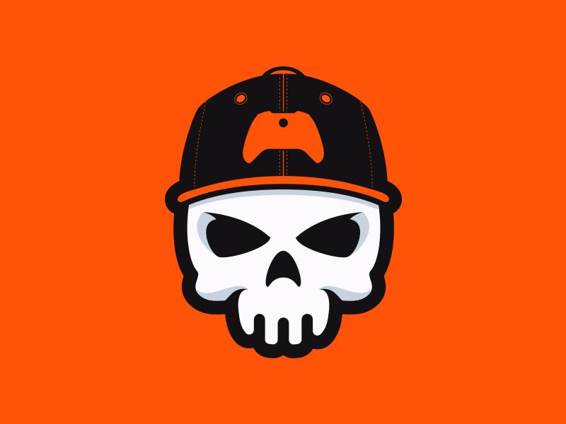 Skull Gaming Logo on Behance.