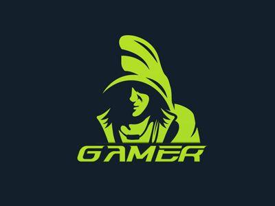 Incredible Character Gamer Logo.