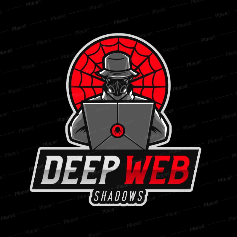 Gaming Logo Maker Featuring a Deep Web Hacker 2815o.