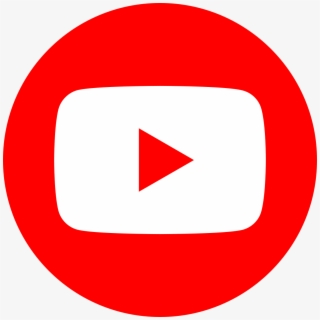 Free Round Youtube Icon Png Vector.