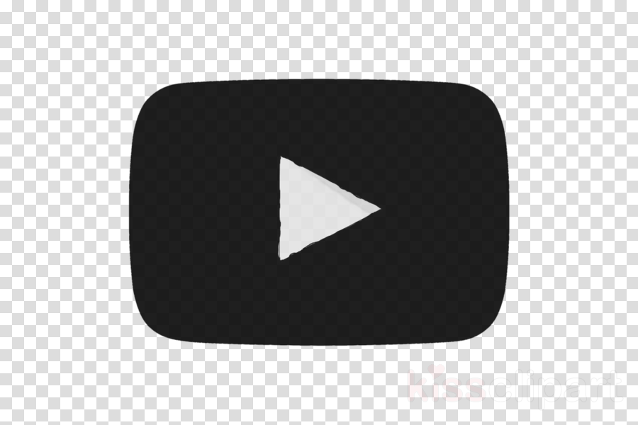 Youtube Black Logo clipart.