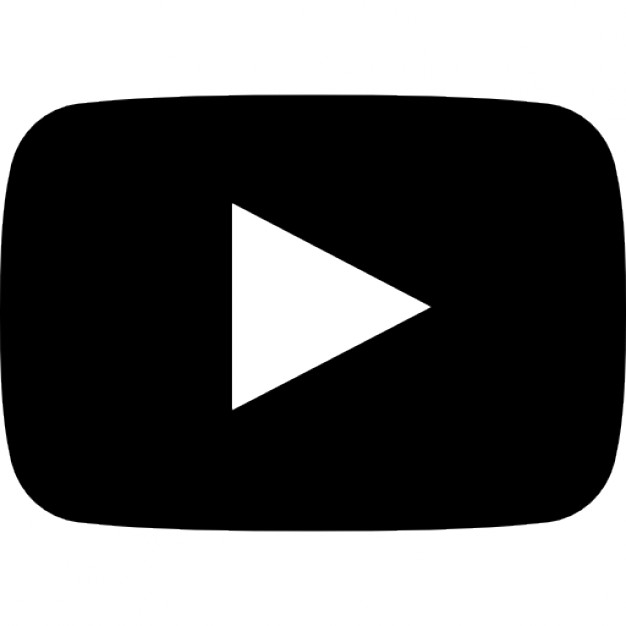 Youtube Icon Png Black #181126.