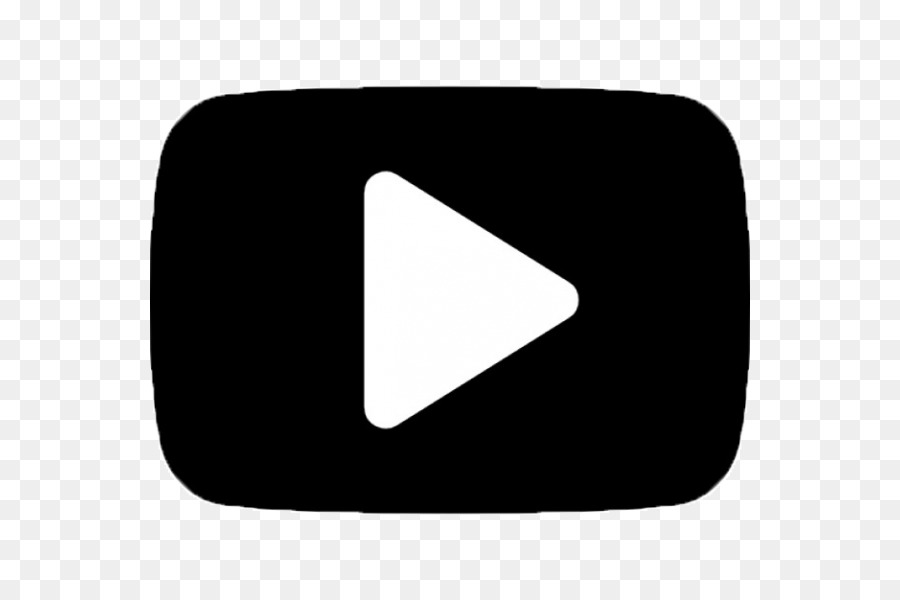 Youtube Logo Black And White png download.