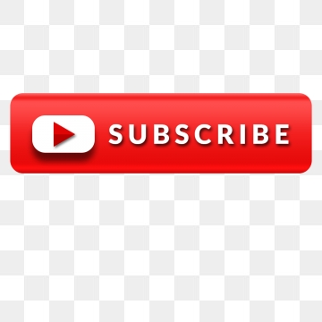 Youtube Subscribe PNG Images.