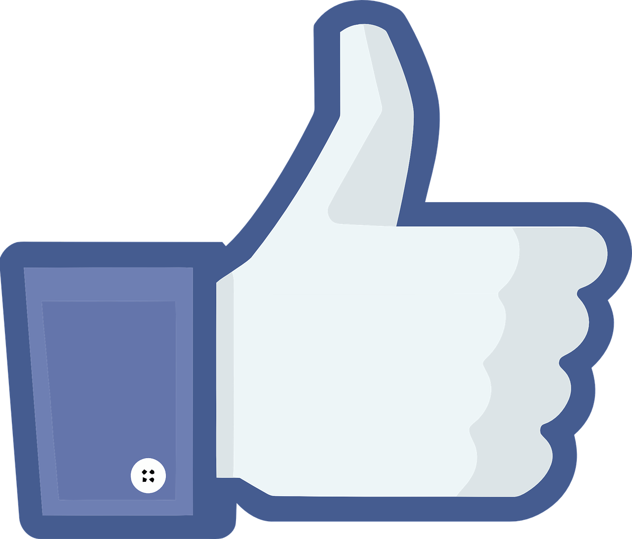 YouTube Facebook like button Social media Clip art.