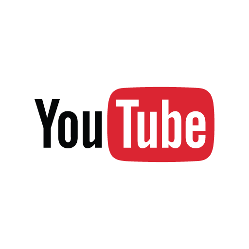Download YouTube brand logo (flat) in vector format.