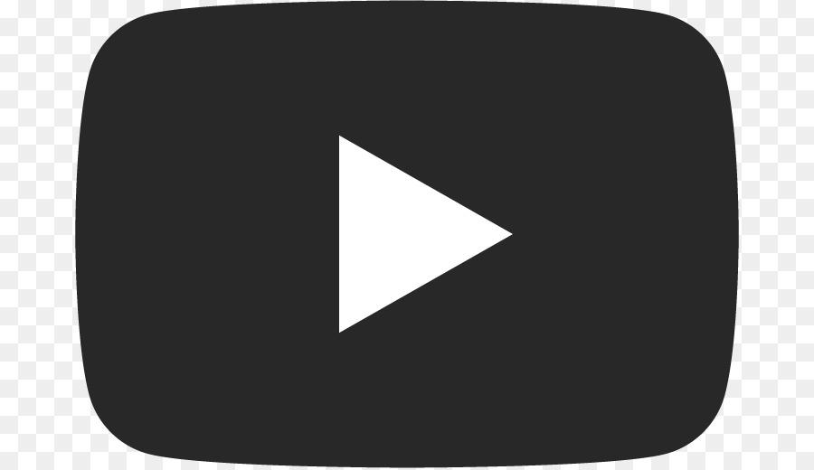 Youtube Black Logo png download.