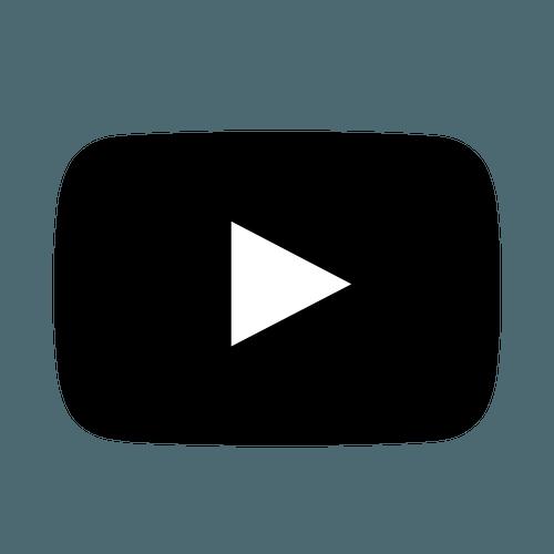 Black Youtube Logo & Free Black Youtube Logo.png Transparent.