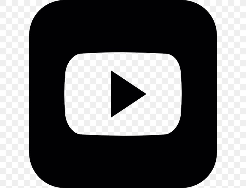YouTube Logo Clip Art, PNG, 626x626px, Youtube, Area, Black.