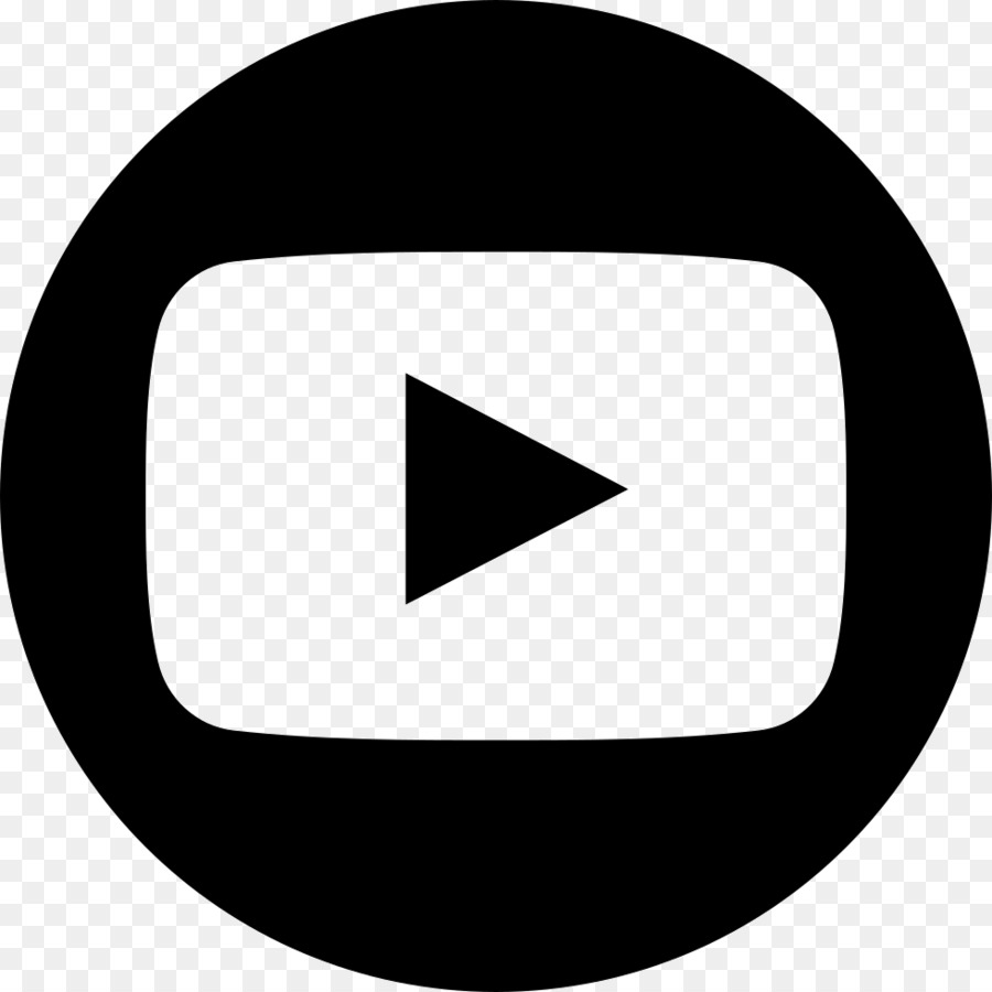 Youtube Logo Black And White.