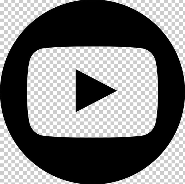 YouTube Logo Computer Icons PNG, Clipart, Angle, Black.