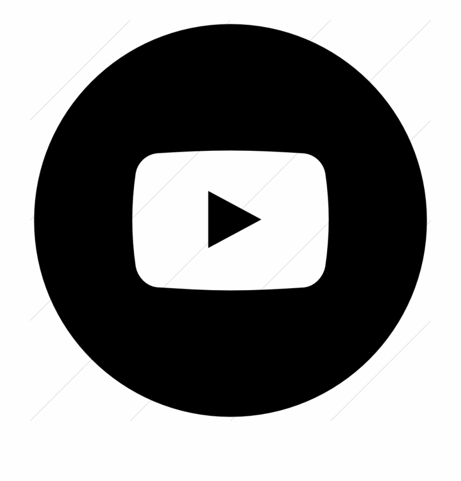 Youtube App Logo Black And White Pictures To Pin On.