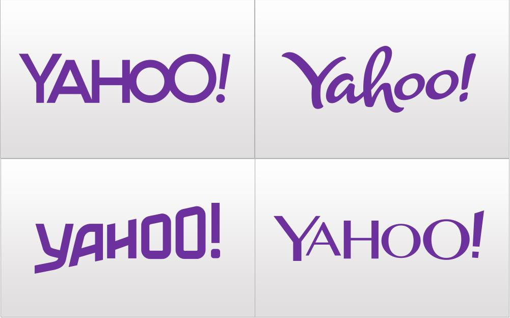 Yahoo! changes its company logo 30 times in 30 days.