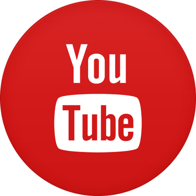 Circle Youtube Icon transparent PNG.
