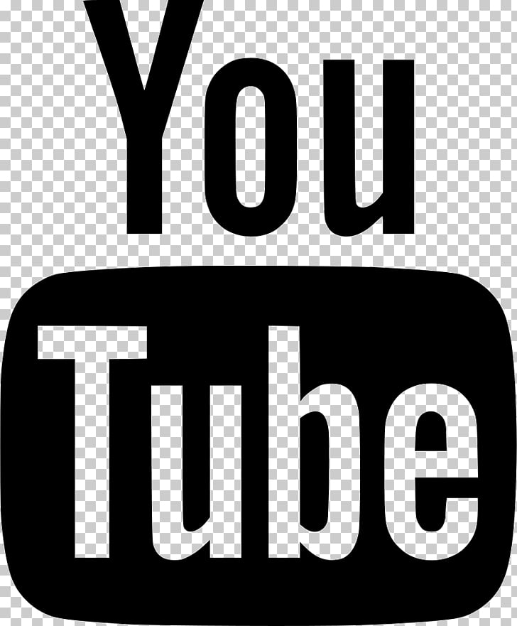 YouTube Logo Computer Icons Black and white, youtube PNG.