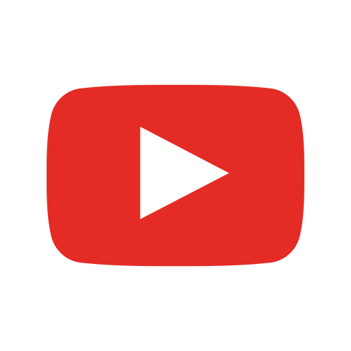 Media, play, player, video, web, youtube icon.