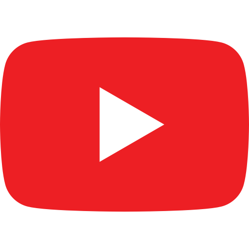Play, video, vlog, youtube icon.