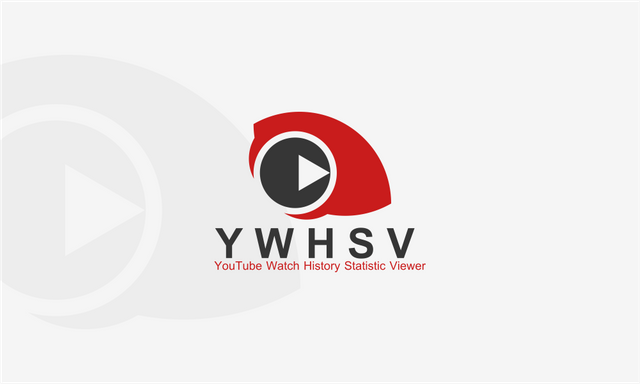 My Logo Contribution To YouTube Watch History Statistic.