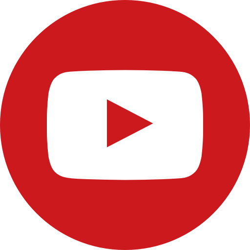 Channel, circle, logo, media, social, video, youtube icon.