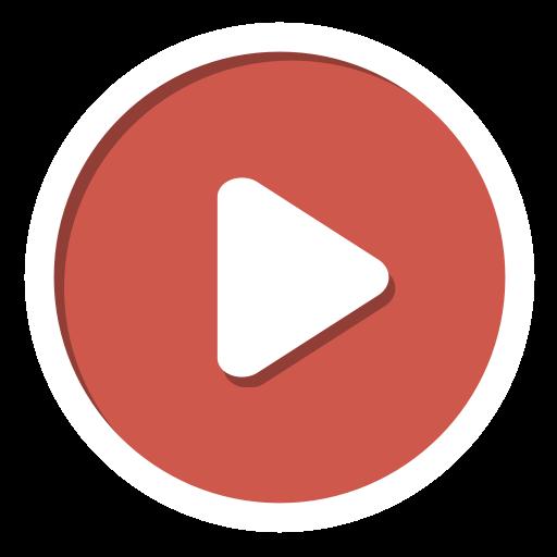 Play, youtube icon.