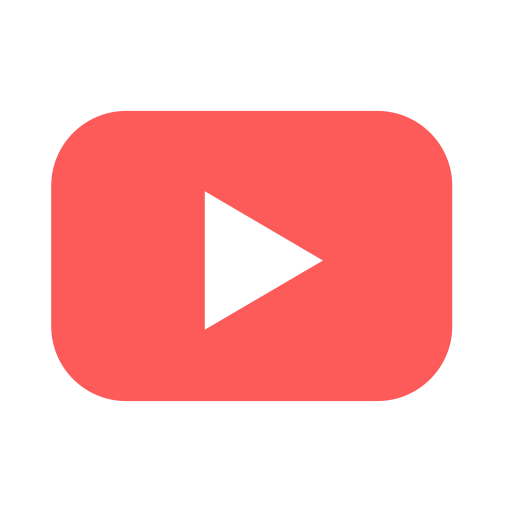Youtube, video, social, media, play Symbol Kostenlos von Brands Flat.