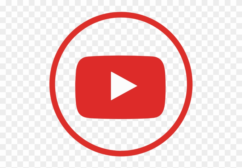 Youtube Logo Round Png.