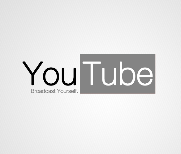 YouTube Logos.