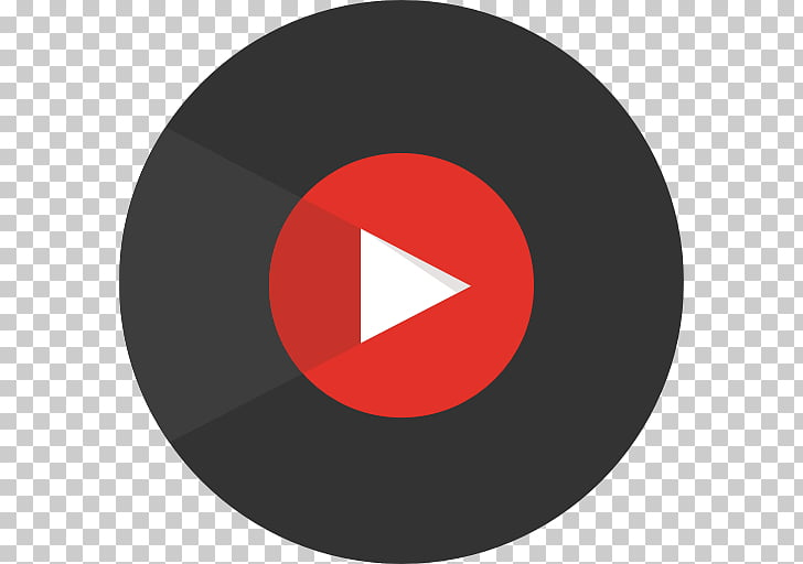 YouTube Music Android Music , song, red and black play logo.