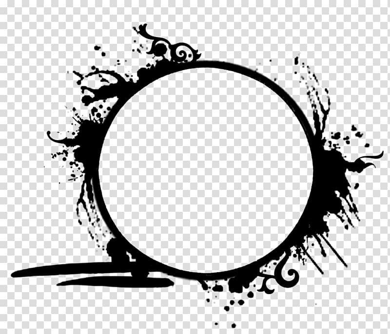 Black and blue , Nashik Dhol Music Logo YouTube, circle.