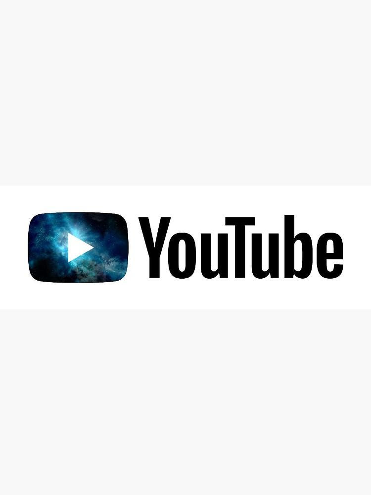 NEW YouTube Galaxy Logo Design.
