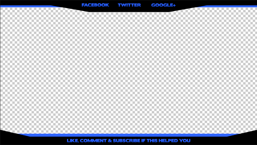 27 Images of YouTube Overlay Template No Name.